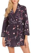 MIDNIGHT BAKERY Print Short Robe
