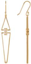Botkier Crystal Linear Drop Earrings