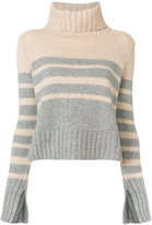Drumohr striped knit jumper