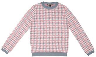 Loro Piana Kids Funny College cashmere-blend sweater