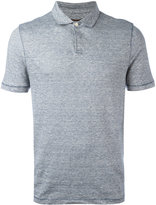 Michael Kors fine stripe polo shirt - men - Cotton/Linen/Flax - S