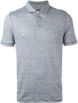 Michael Kors fine stripe polo shirt