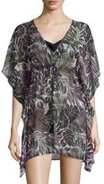 Tommy Bahama Lively Leaves Tunic Coverup, Plus Size