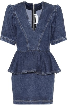Rotate by Birger Christensen Mindy denim minidress