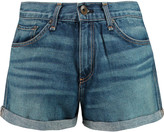 Rag & Bone Sigrun high-rise denim shorts