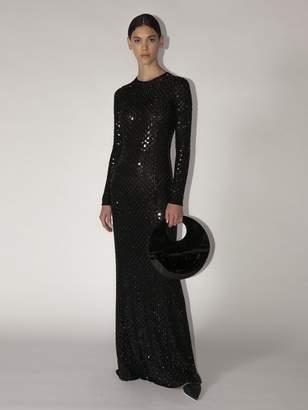 Giorgio Armani Embellished Techno Gown