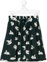 Stella McCartney Myrtle swan print skirt