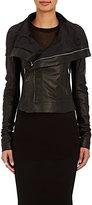 Rick Owens Women's Classic Biker Leather Jacket