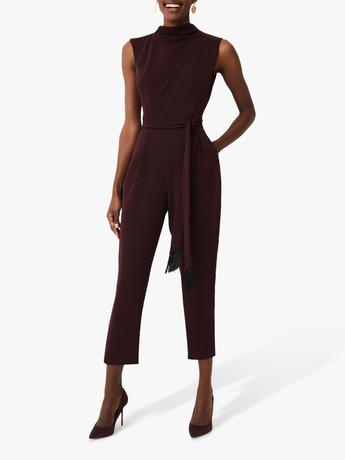 Thumbnail for your product : Phase Eight Zinnia Jumpsuit, Wine