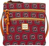 Dooney & Bourke South Carolina Gamecocks Triple Zip Crossbody Bag