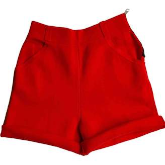 Sonia Rykiel Sonia By Red Cotton Shorts for Women