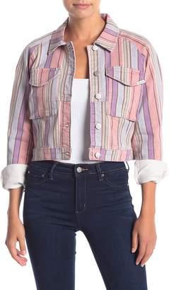 Ella Moss Dolman Denim Cropped Jacket
