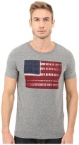 Lucky Brand Tie-Dye Flag Graphic Tee