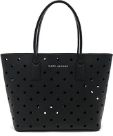 Marc Jacobs Perforated Tote in Black.
