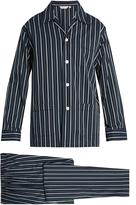 Derek Rose Royal cotton pyjama set
