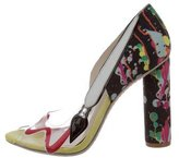 Sophia Webster Pretty Like Pollock PVC Pumps