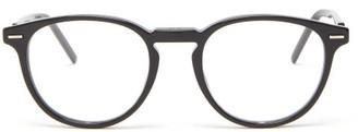 Dior Homme Sunglasses - Technicity Round Acetate Glasses - Black