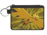 "Pokemon Buckle-Down Unisex-Adult's Canvas Coin Purse 4.25"" x 3.25"""