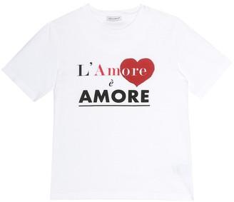 Dolce & Gabbana Kids L'Amore cotton T-shirt