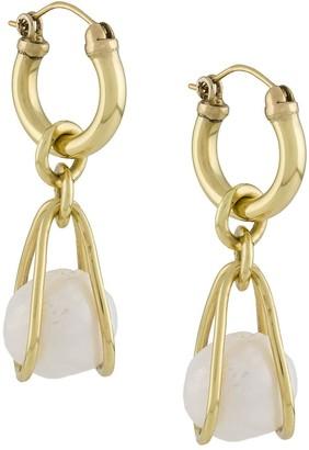 Ellery Clio stone embellished earrings
