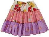 Pink Chicken Allie Skirt (Toddler/Kid) - Mixed Prints-5 Years