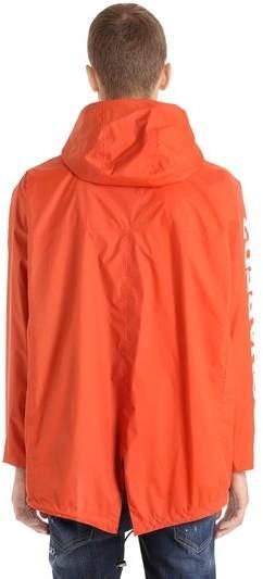DSQUARED2 K-Way Reversible Nylon Rain Jacket - ShopStyle