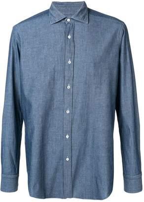 Piombo MP Massimo pointed collar shirt