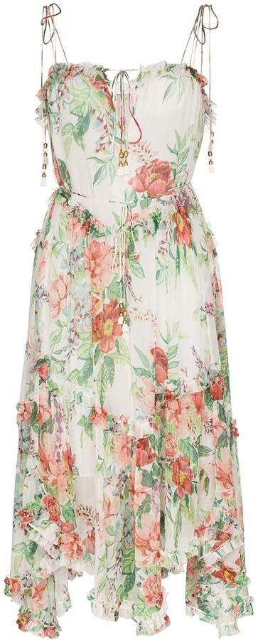 Zimmermann Bellitude floral-print midi dress
