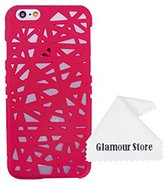 Tory iPhone 6 Case,Bird Nest Rear Hard Skin Protector Case Cover For Apple iPhone 6 6G 4.7 inch+Free Cleaning Cloth As a Gift (Hot Pink)