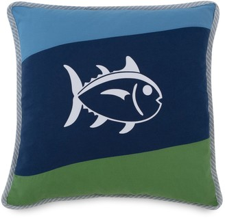 Southern Tide Sailor Striped Square Throw Pillow