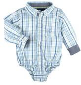 Andy & Evan Infant Boy's Plaid Bodysuit