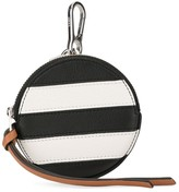 Loewe stripe coin pouch