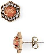 Rebecca Minkoff Hex Stud Earrings