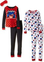Miraculous Ladybug Miraculous Lady Bug Big Girls'pc Cotton Sleepwear Set