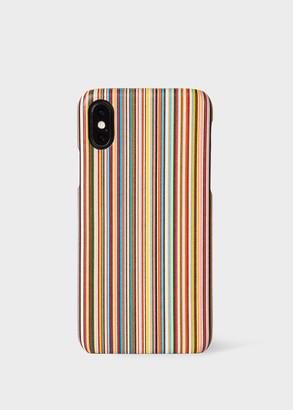 'Signature Stripe' iPhone X Case
