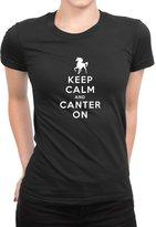 Idakoos - Keep calm and canter on - Urbans - Women T-Shirt