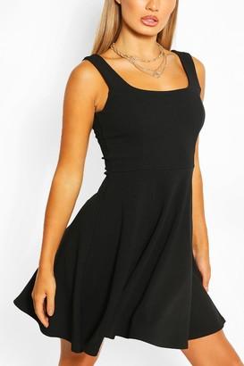 boohoo Strappy Skater Dress