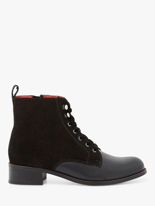 White Stuff Mabel Lace Up Leather Boots
