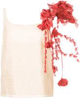 Rosie Assoulin floral bouquet top - women - Silk/Polyester - S