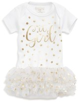 Infant Girl's Sara Kety Baby & Kids 'It Girl' Tutu Bodysuit