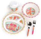 Mackenzie Childs MacKenzie-Childs Toddler's Six-Piece Gingerbread Bunny Dinnerware Set