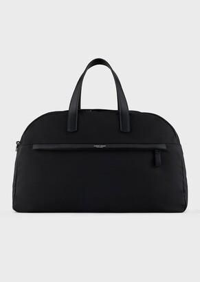 Giorgio Armani High-Strength Waterproof Nylon Duffel Bag