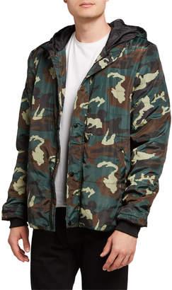 Sovereign Code Camo Puffer Jacket w/ Hood