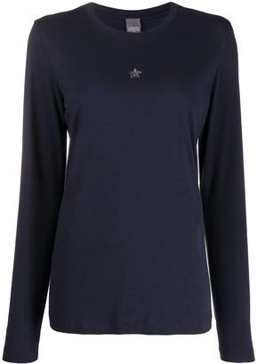 Lorena Antoniazzi star-detail long sleeved T-shirt