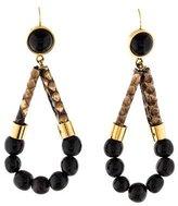 Marni Snakeskin & Bea Drop Earrings