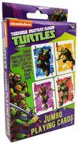 Teenage Mutant Ninja Turtles Jumbo Cards by Cardinal