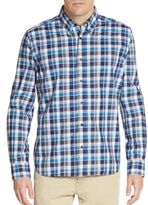 Corneliani Cotton Checked Sportshirt