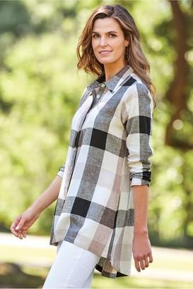 Women Carreaux Shirt