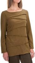Neon Buddha Inspired Layered Shirt - Long Sleeve (For Women)