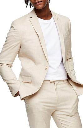Topman Dax Slim Fit Suit Jacket